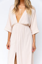 Verity Maxi Dress - Beige
