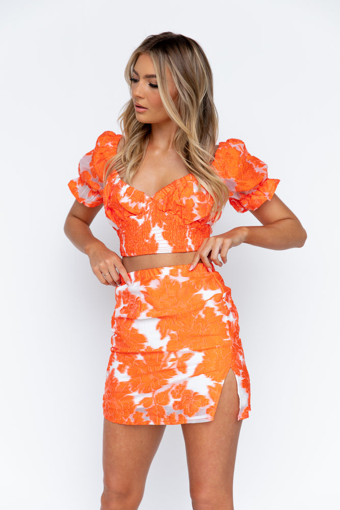 Stassi Set - Orange