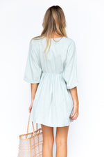 Verity Mini Dress - Sage
