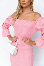 Courtney Dress - Pink