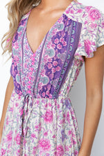 Darlia Dress - Purple