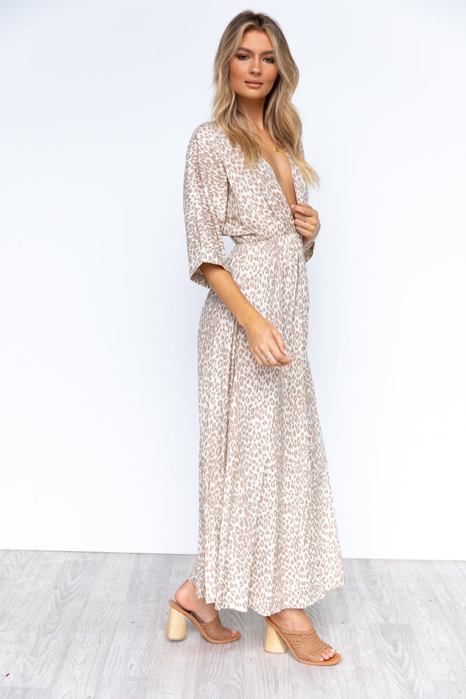 Verity Maxi Dress - Leopard