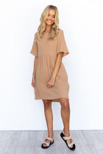 Inca Dress - Tan