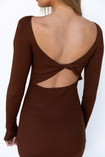 Bellami Dress - Chocolate Brown