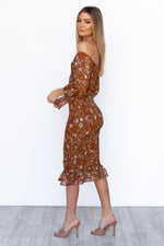 Manhattan Dress - Brown