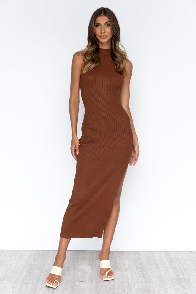 Kimmy Dress - Chocolate