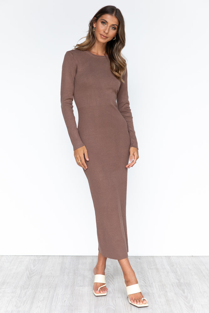 Khloe Dress - Brown