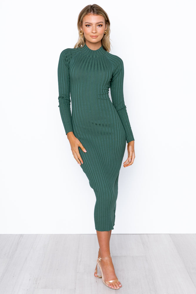 Daria Dress - Emerald