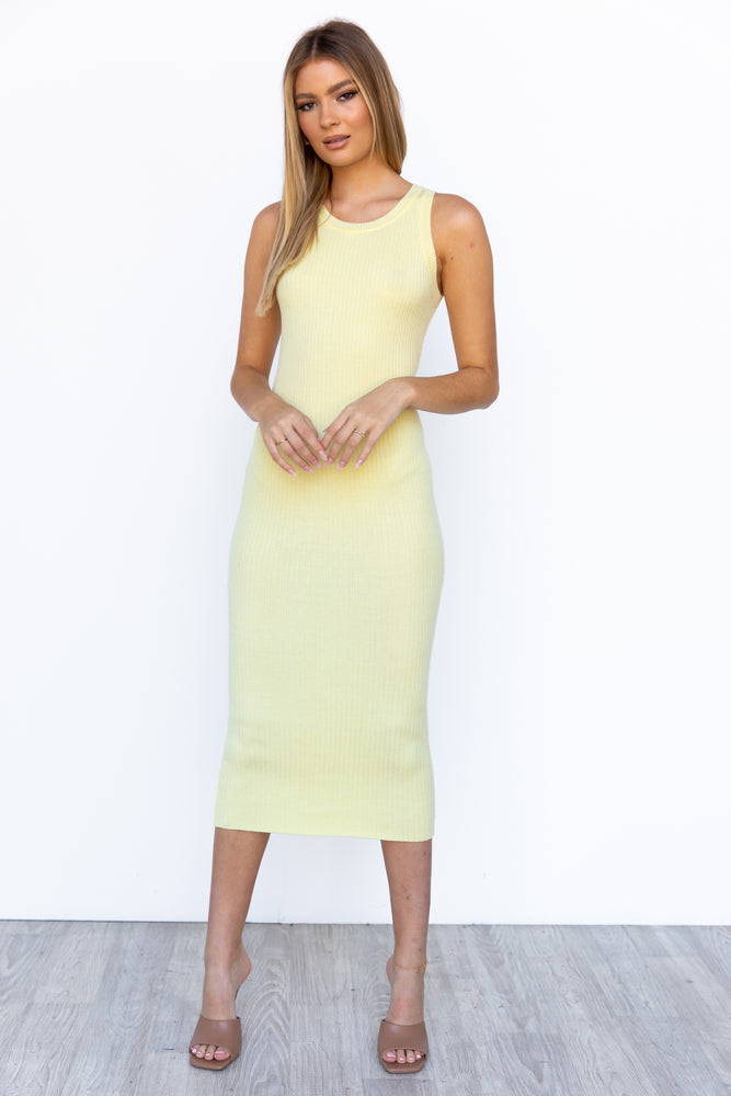 Kallie Dress - Yellow