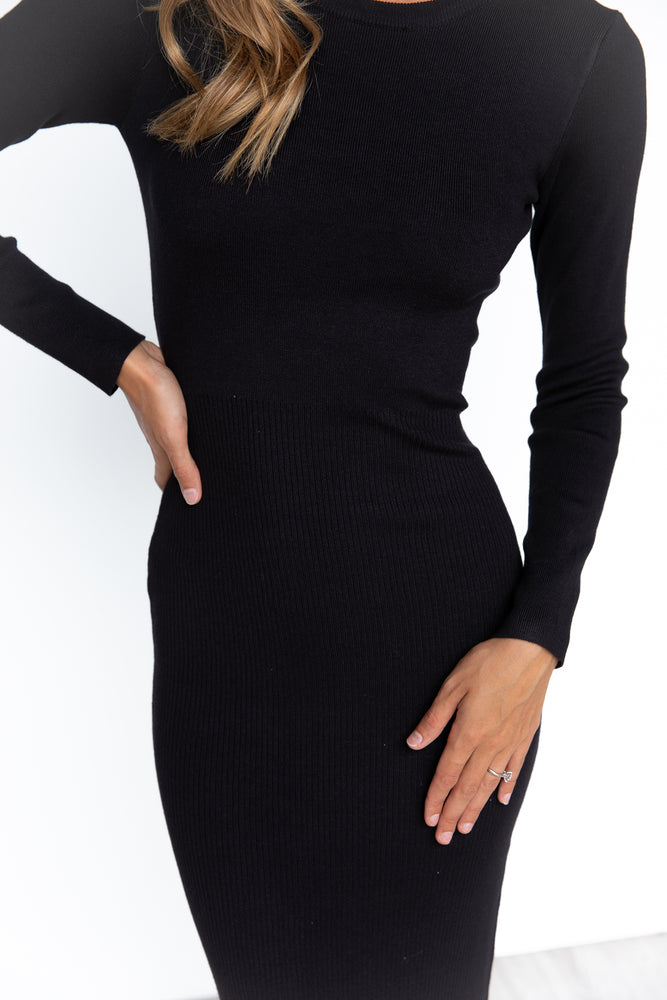 Khloe Dress - Black