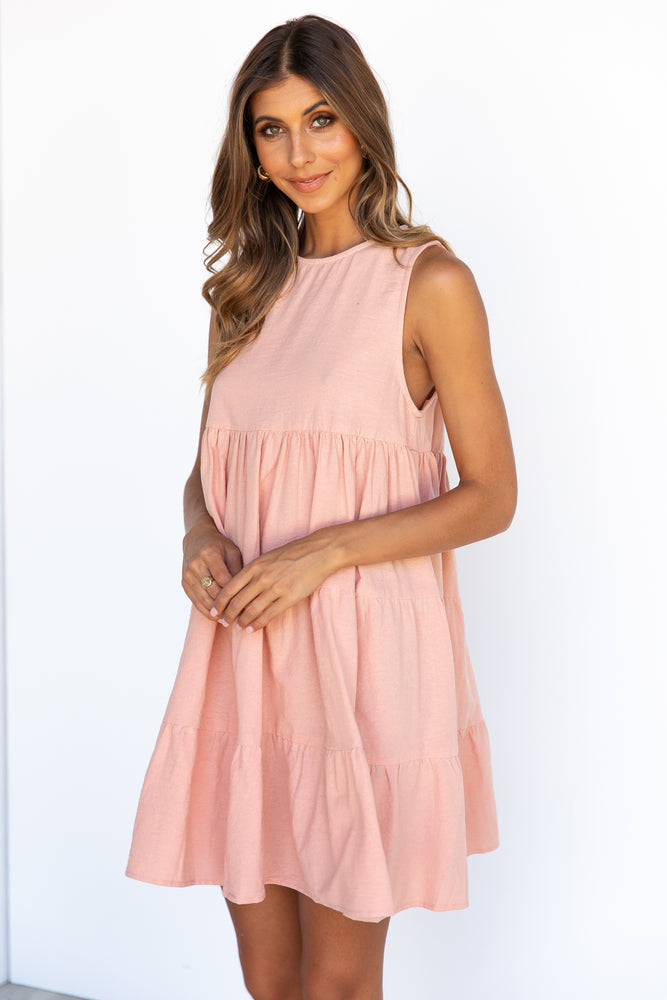 Lulu Dress - Blush