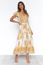 Darlia Dress - Yellow