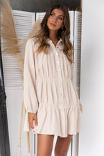 Esther Dress - Beige