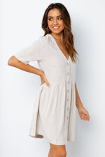 Nelly Dress - Natural