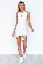 Zari Dress - White
