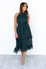 Ivy Dress - Emerald