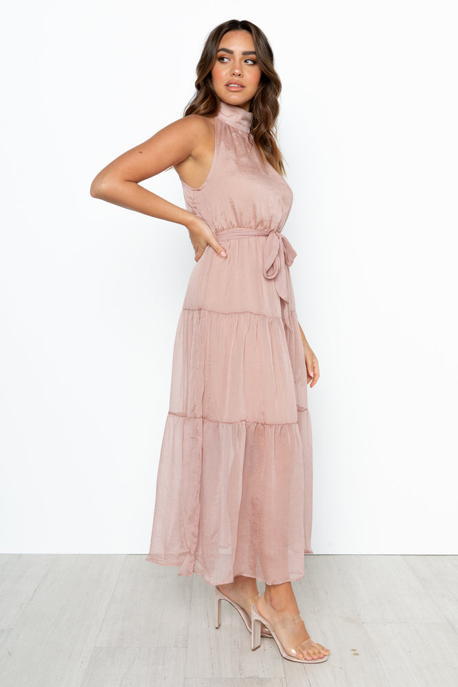 Pixie Maxi Dress - Nude