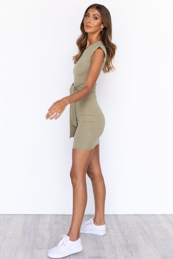Lara Dress - Khaki