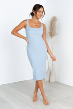Samson Dress - Blue