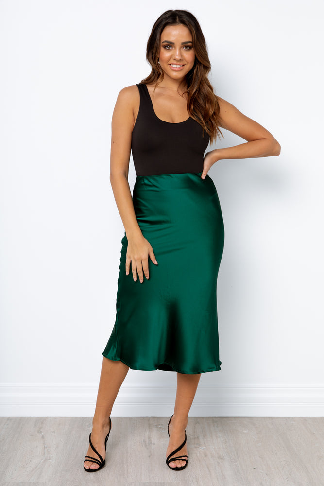 Sabine Skirt - Emerald