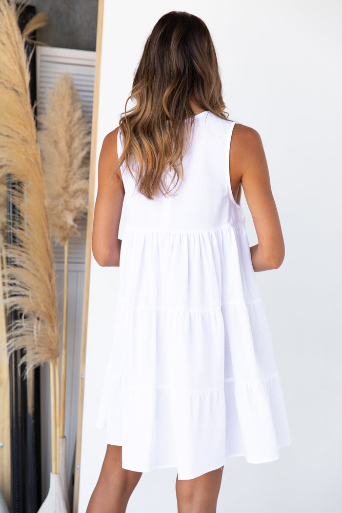 Lulu Dress - White