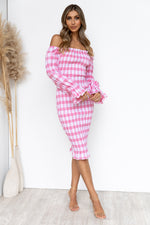Soleil Dress - Pink/Gingham