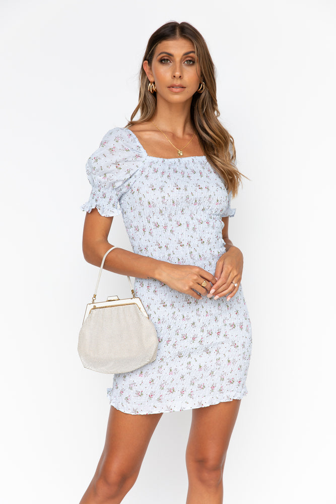 Dream Girl Dress - Pale Blue