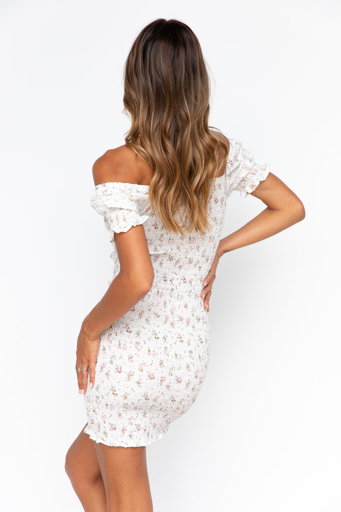 Dream Girl Dress - White