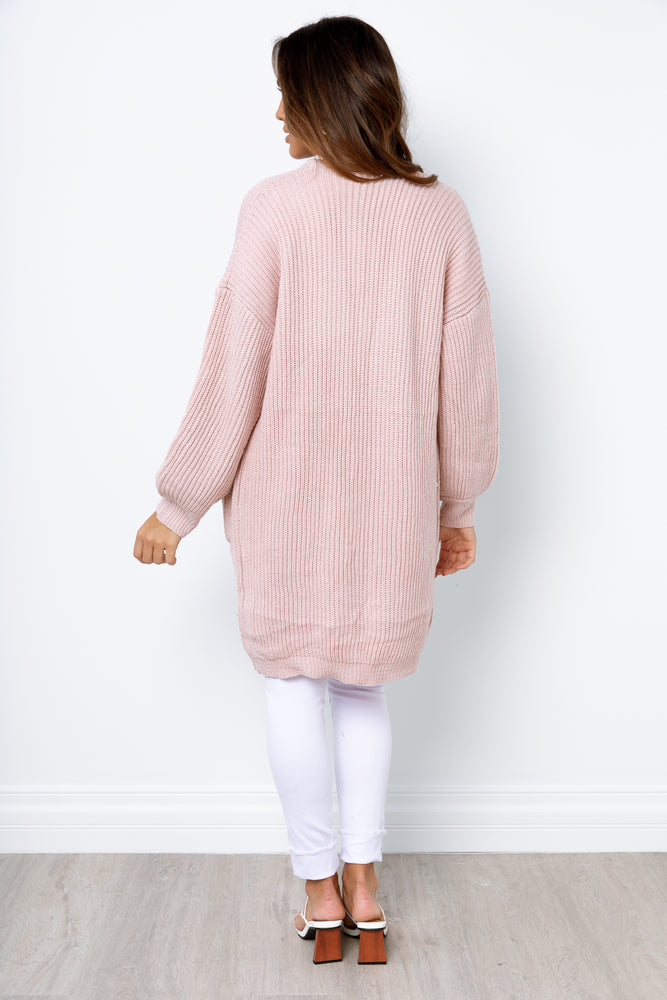 Esme Knit Jacket - Blush
