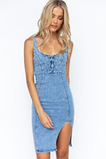 Joni Denim Dress