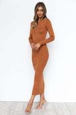 Khloe Dress - Rust