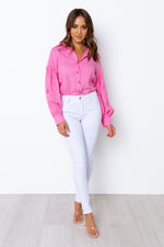 Pamela Blouse - Hot Pink
