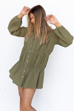 Esther Dress - Khaki