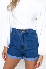 Tenisha Denim Shorts