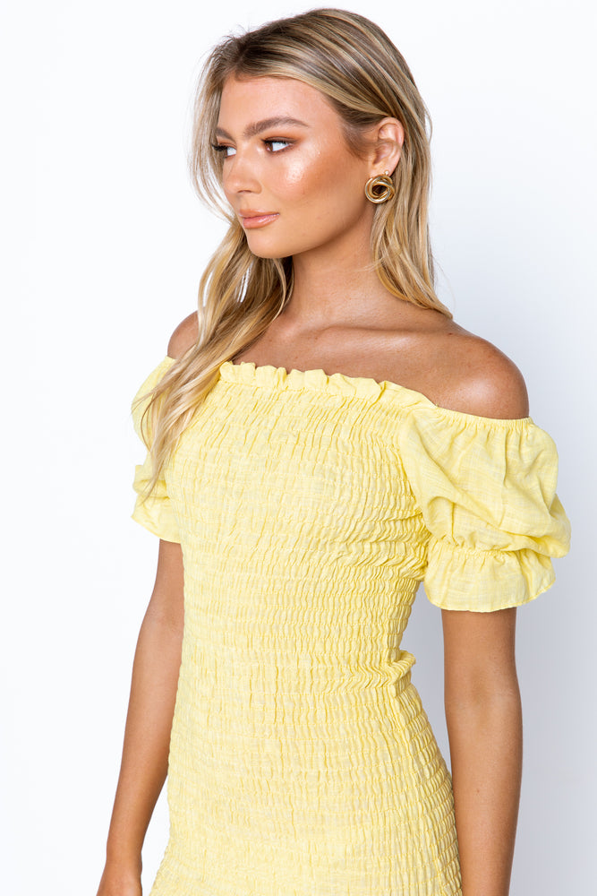 Edmiston Dress - Yellow