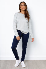 Amera Knit Top - Grey