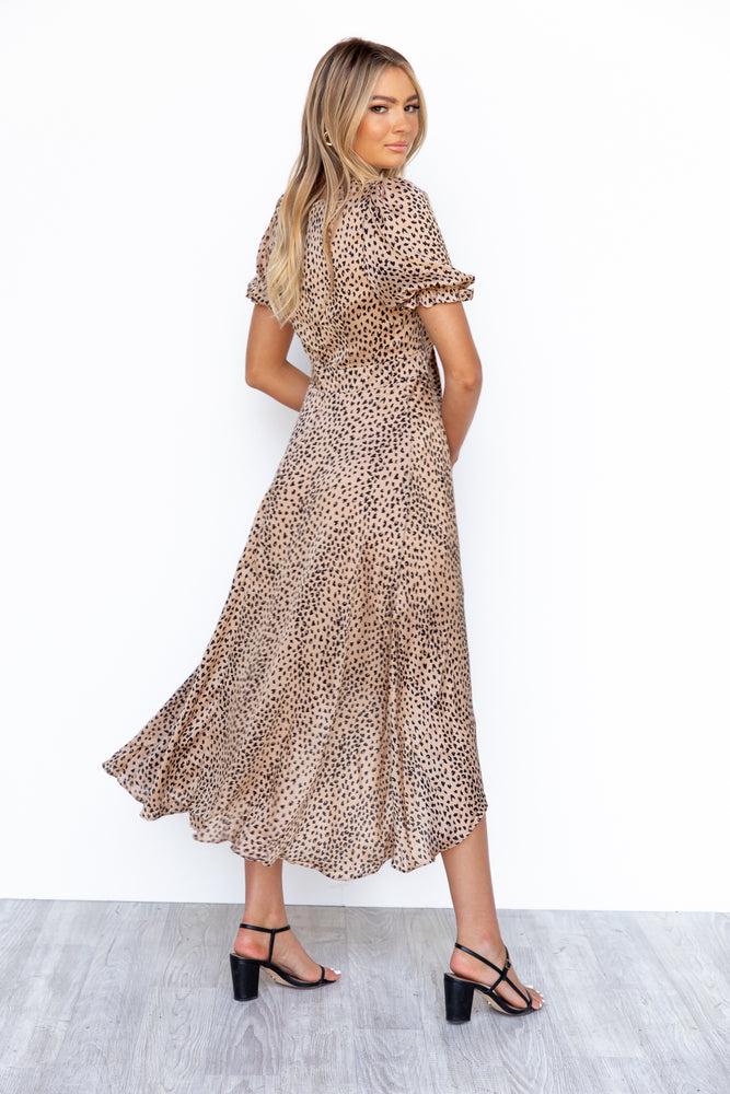 Parisian Dress - Leopard