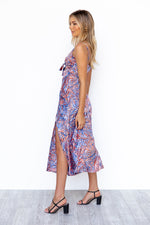Zazu Dress - Blue/Print