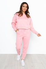 Society Track Pants - Blush