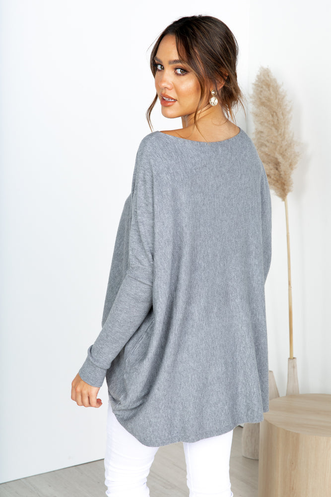 Larosa Knit - Grey