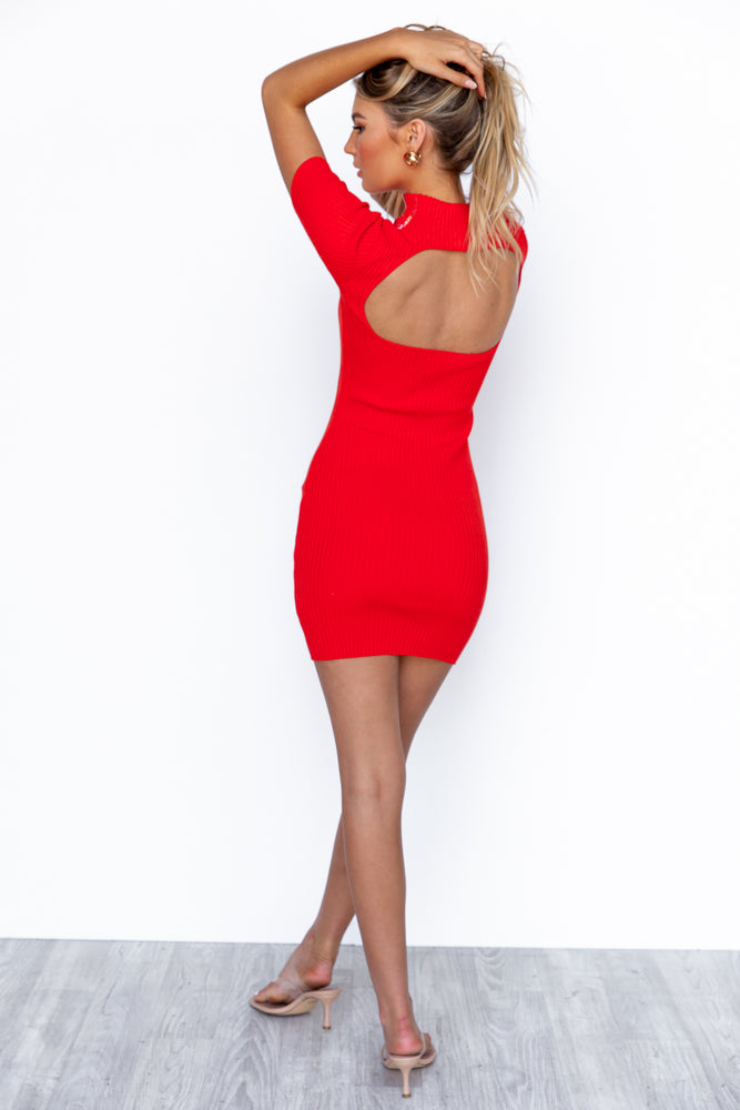 Dayna Dress - Red