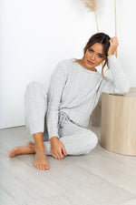 Desi Knit Set - Grey
