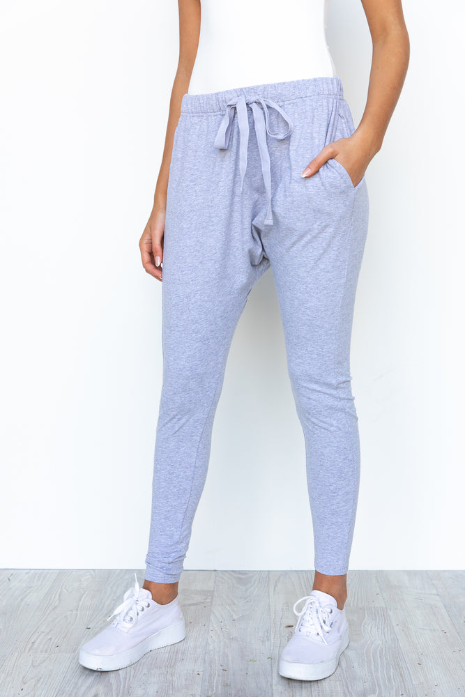 Kiera Jogger Pants - Grey