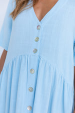 Nelly Dress - Baby Blue