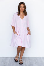 Neesh Dress - Blush
