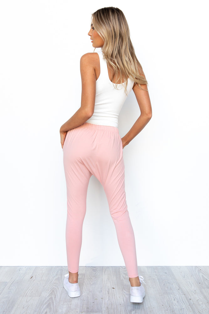 Kiera Jogger Pants - Blush