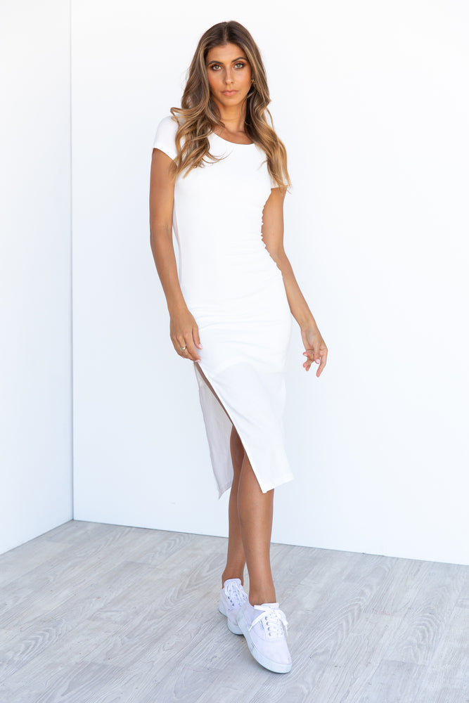 Mollie Dress - White