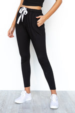 Kiera Jogger Pants - Black