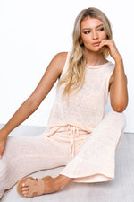 Zara Knit Set - Blush