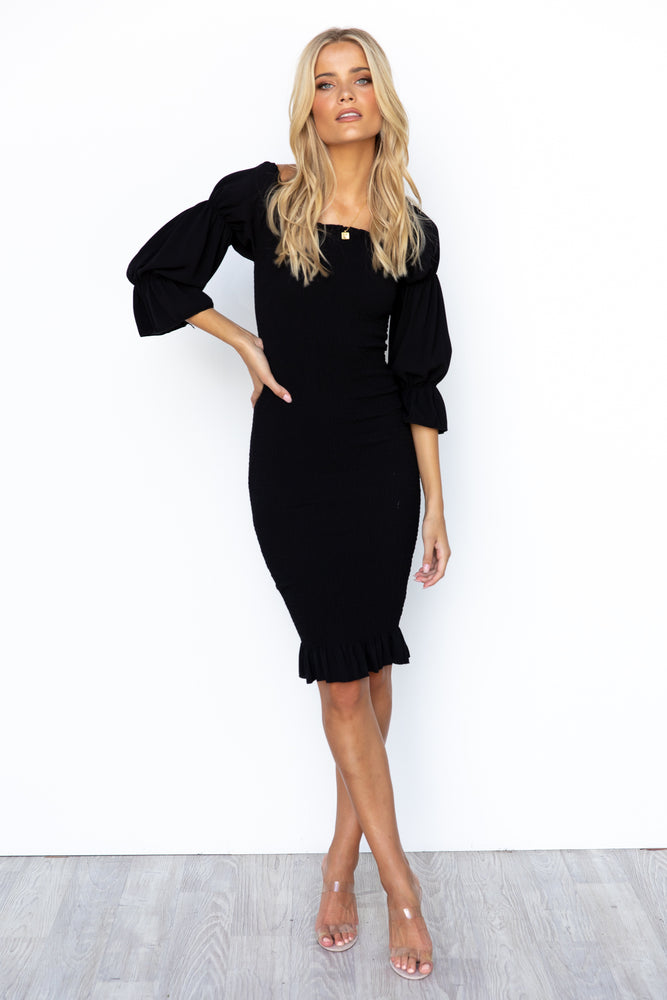 Myrah Dress - Black